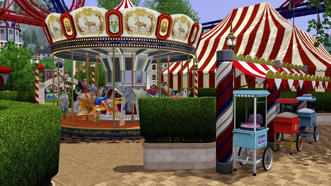 sims 3 roller coaster download